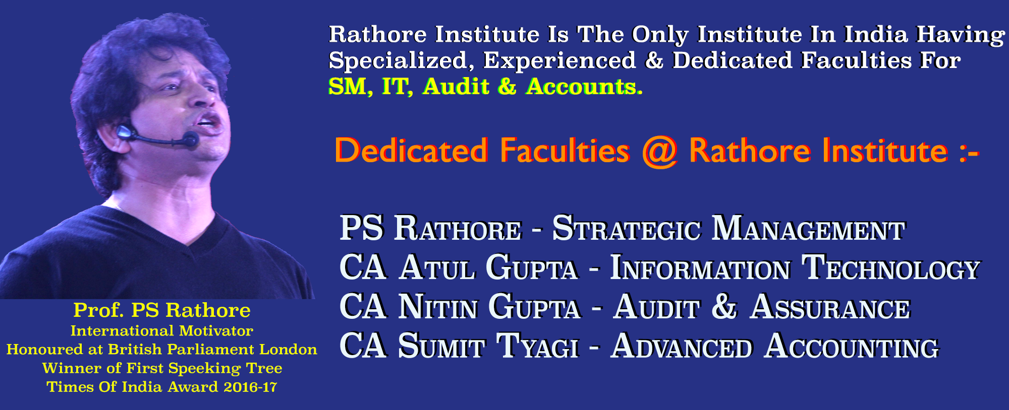 Welcome to Rathore Institute